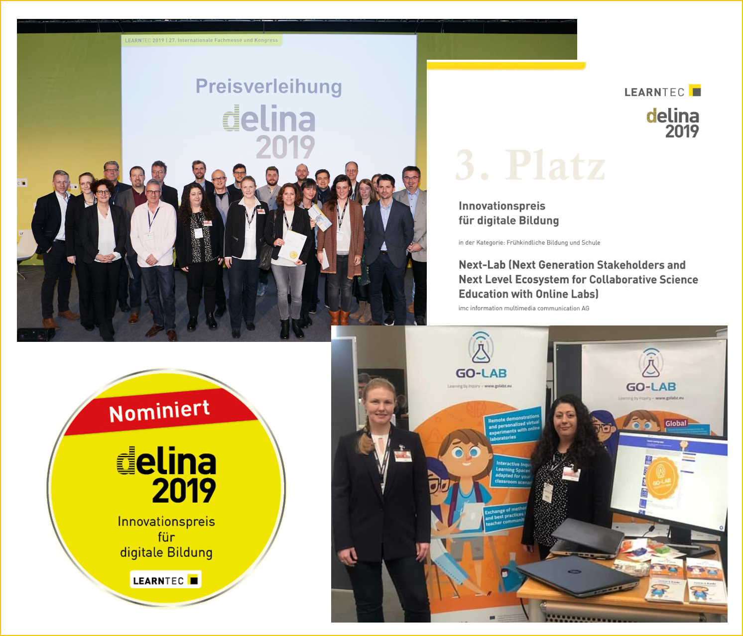 Next-Lab at Delina Award 2019